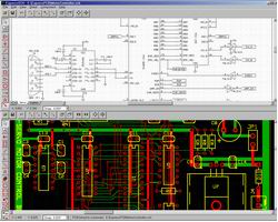 Программа рисования схем и печатных плат ExpressPCB